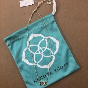 NWT Kendra Scott Gold Abalone Elisa Necklace